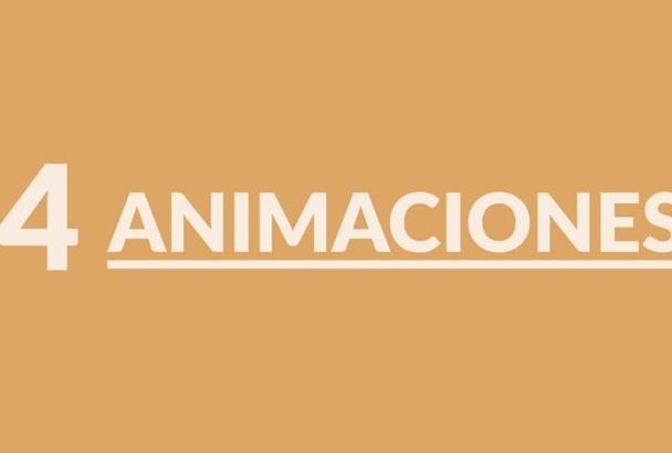 hacer estas animaciones para tu logo