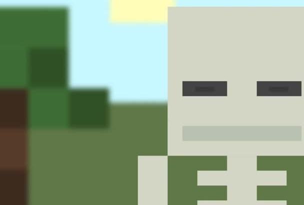 create super cool Minecraft intro outro video