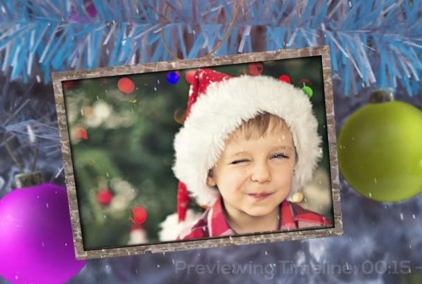 do a christmas video