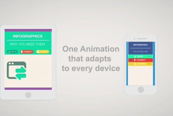 create an interactive HTML5 INFOGRAPHIC