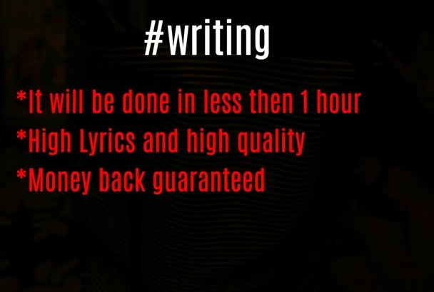 write And Record An AMAZING Original Song