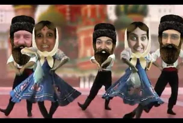 make Classic Dancing Video starring you