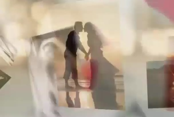 create a Love photo video slideshow