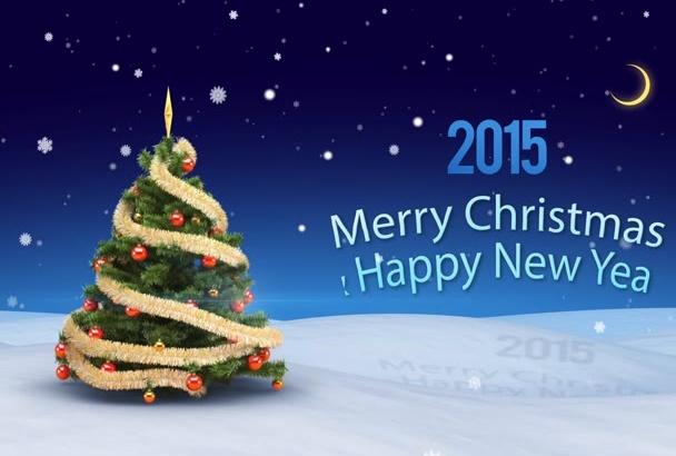make you a video greeting Christmas