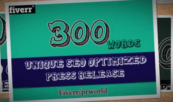 write unique Press Release and submit it to 5 Press Release sites
