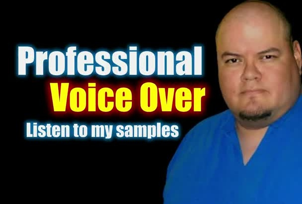 record a Professional Voice Over for Your Project