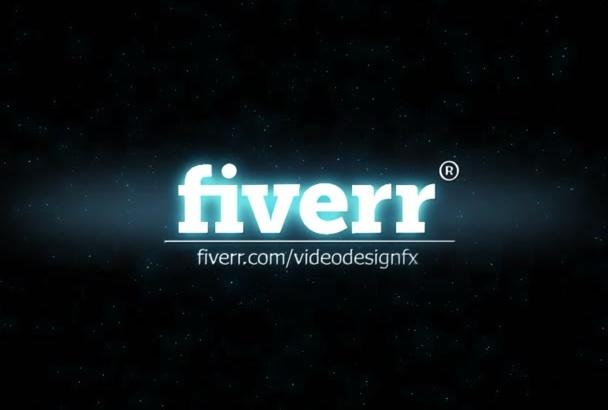 make this logo transformation intro video