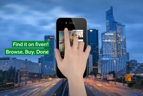 professional App Promo for 5 Dollars