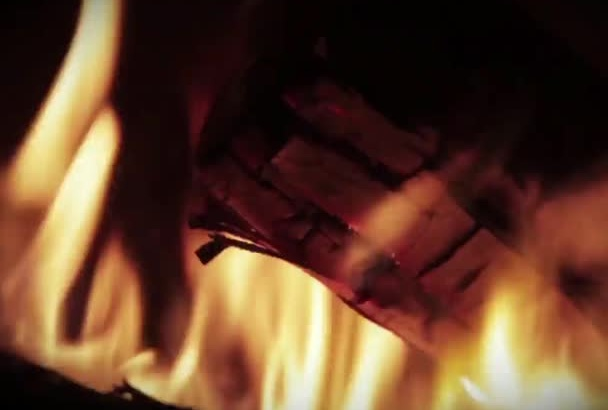 create this nice fire intro video