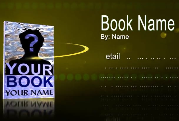 create this Promotional video for your Book