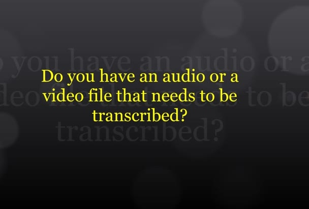 provide fast and accurate transcription up to 20 minutes
