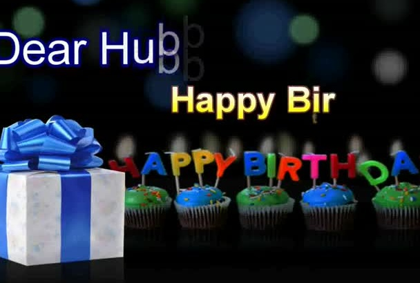 make a love filled Happy BIRTHDAY video for your loved one