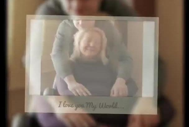 design a tribute for Mother day showing your love
