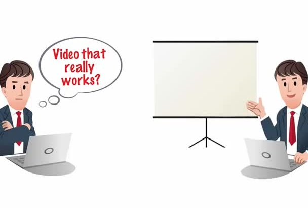create doodle animation promotional video