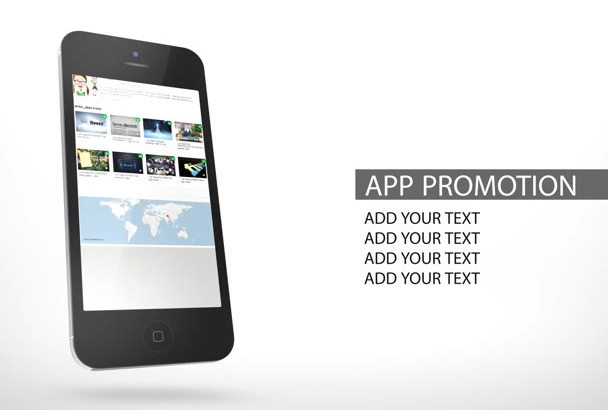 make a short APP promo video for your business