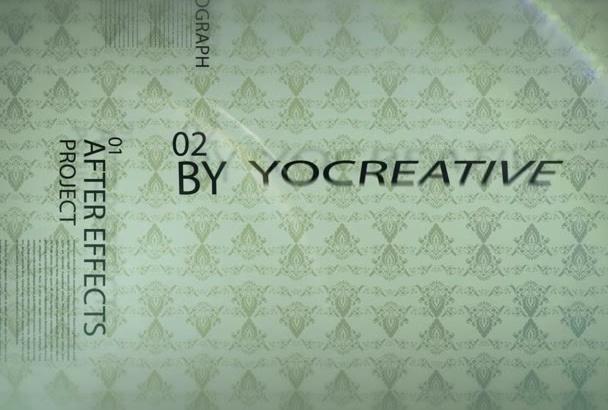 create Marvelous Kinetic Typography Video