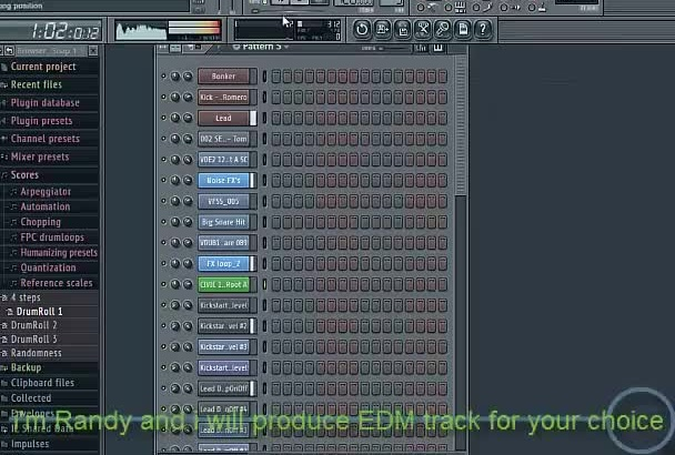 produce EDM electronic music for your choice