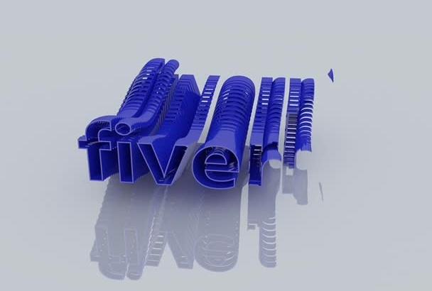 4 create Cinematic Logo intro video