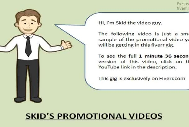 provide a branded hair salon promotional video