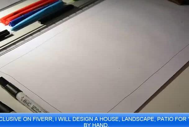 design your landscape, hardscape House, Building