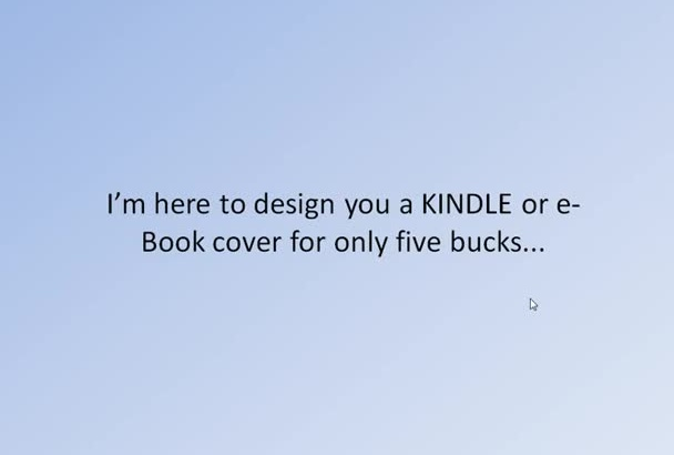 design for you 2 professional eBook or KINDLE covers