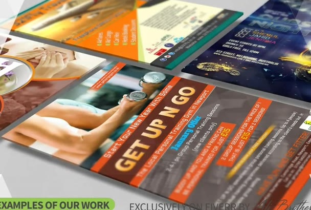 design Eye Catching Flyers and Posters