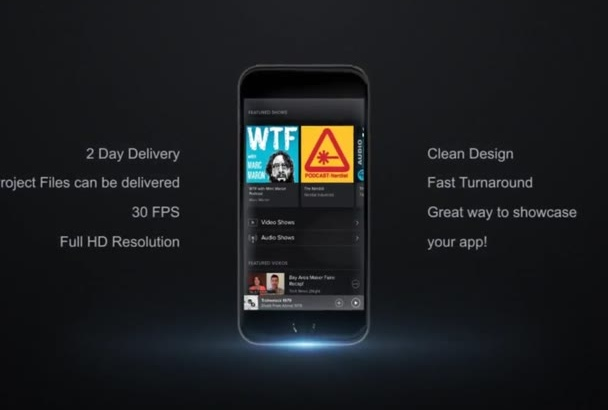 showcase Your App in this Professional Animation