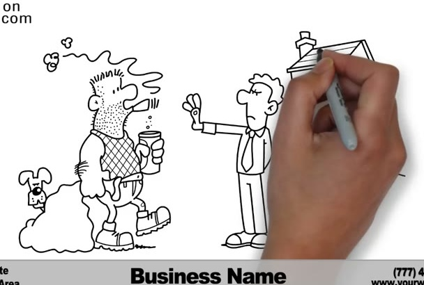 create a Real Estate Letting Property WHITEBOARD Video 2