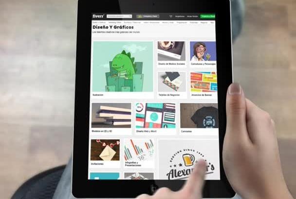 presentar tu web, app en mi tablet magica