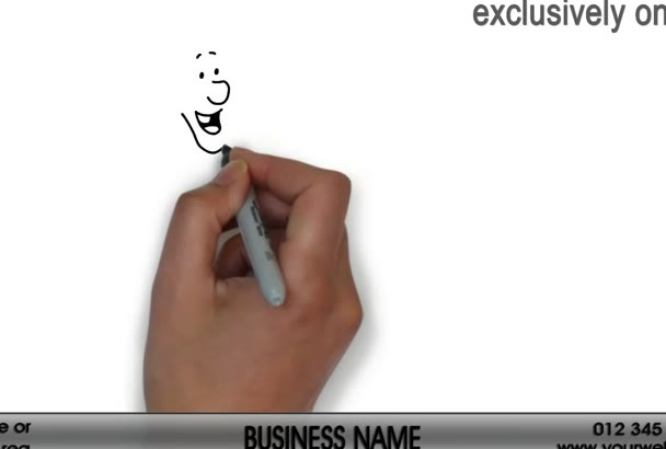 create a PLUMBER Whiteboard Video Animation 2