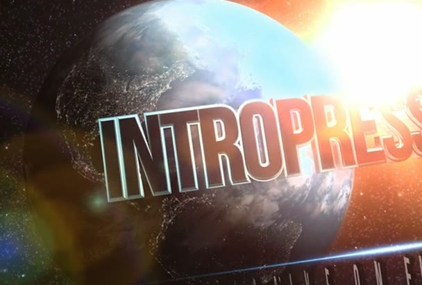 create this 3D Cinematic SPACE Planet Intro