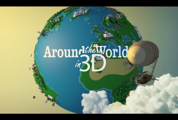 make a 2016 Around The WORLD in 3D Production