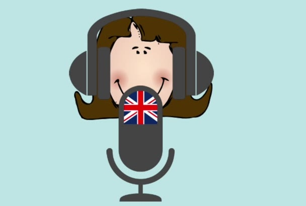 be the BRITISH voice of your explainer video