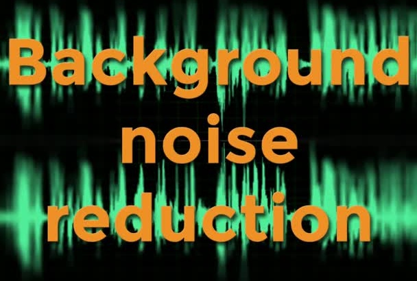 remove noise from your audio or video file