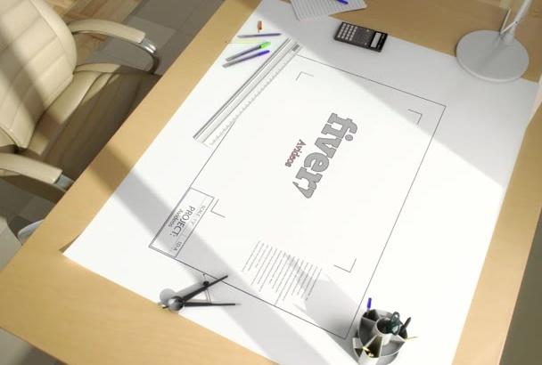 create this elegant architect intro