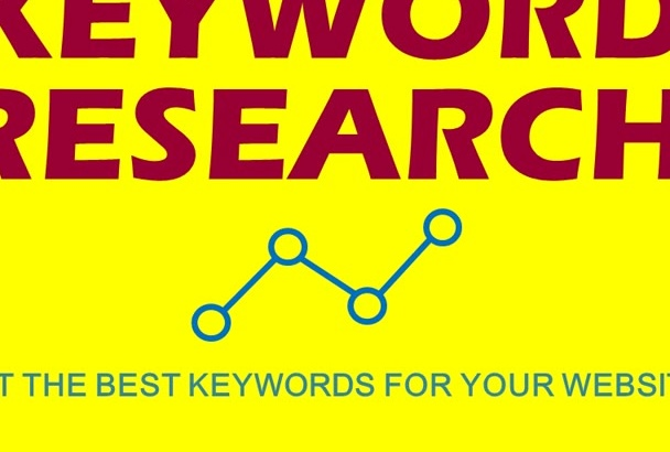 do Professional Keyword Research for your Website in 24 Hours