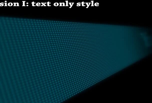make you pacman led display video intro