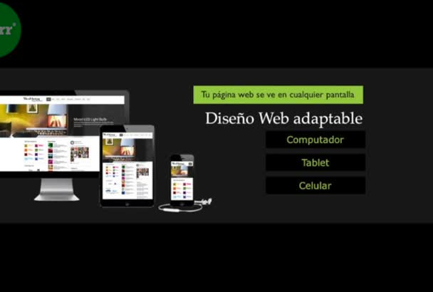 diseñar WebSite Pagina Web Responsiva Wordpress o HTML