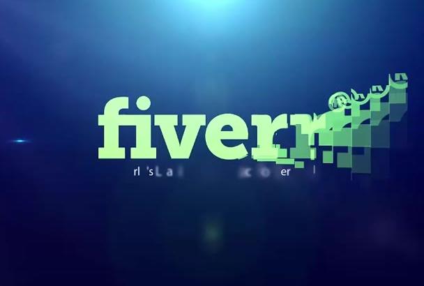make Amazing Logo Video Intro 24 hours