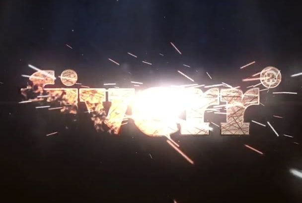 make an amazing sparkling intro for you