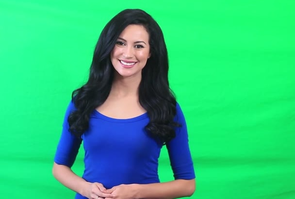 be your Video Spokesperson in HD on Green Screen