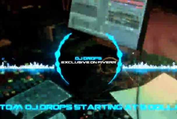 create 3 professional DJ drops with 3 vocal fx