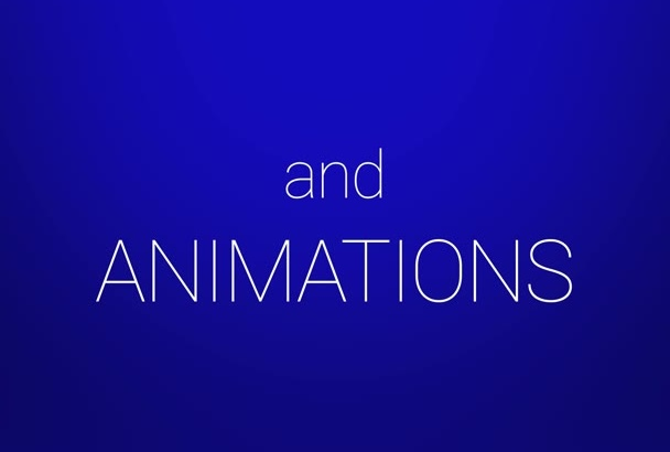 make 3d Model and Animations