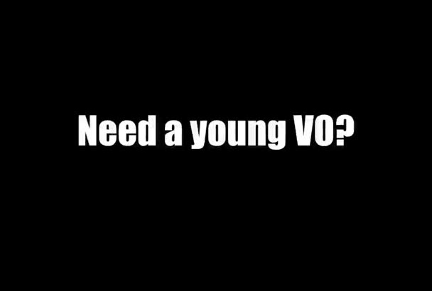 record a young Australian male voiceover