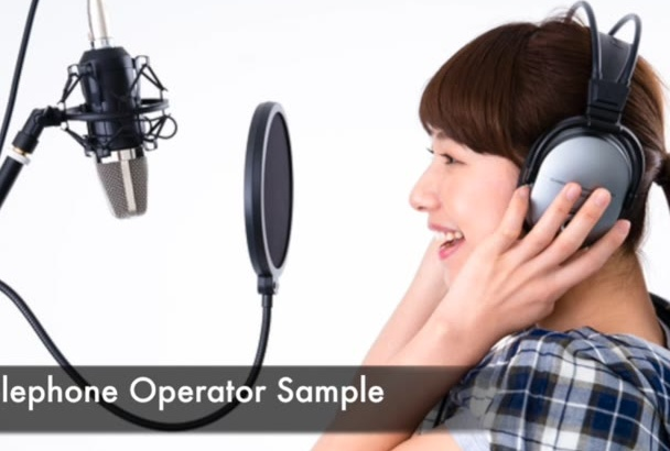 record a Professional Female Japanese Voiceover