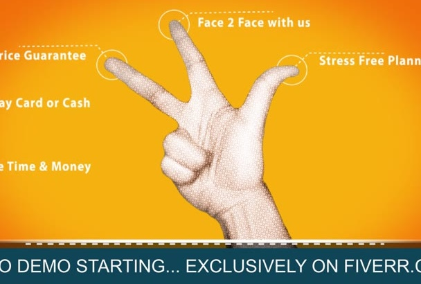 design An Awesome Video Hand Gestures Style Intro