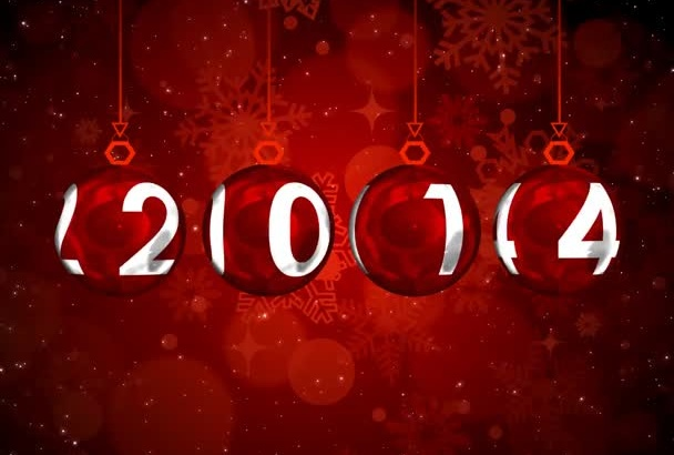 create awesome New Year intro for your business