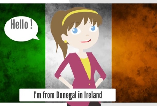 record a Professional Voiceover in an Irish Accent