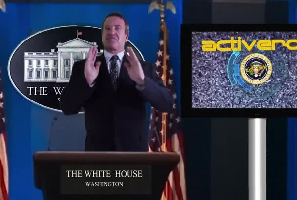 be your White House News Caster