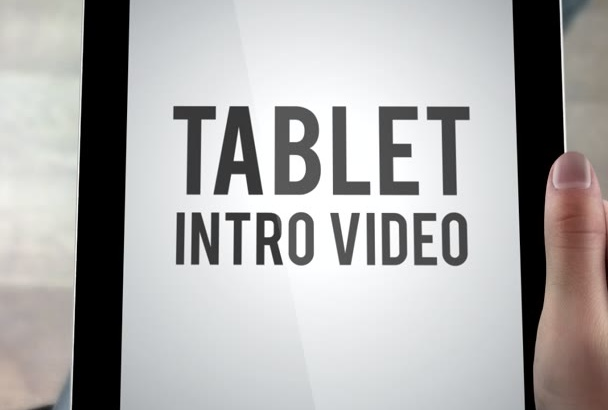 customize this TAB intro video in 4 hours